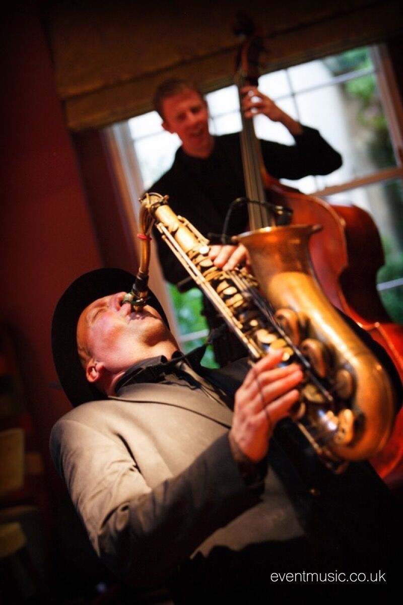 Sax & Bass Duo - Rudding Park