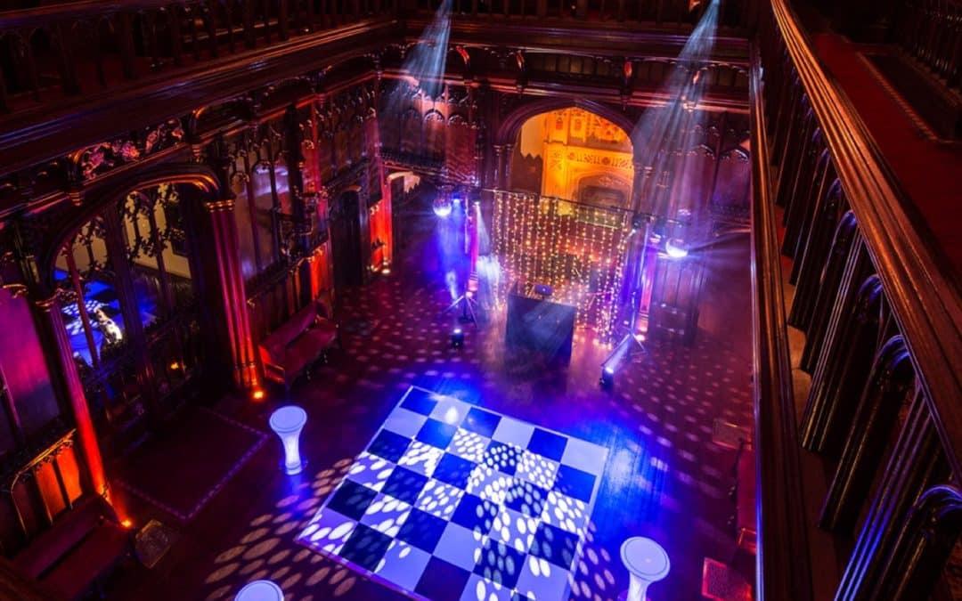 Allerton Castle Wedding Music & Lighting