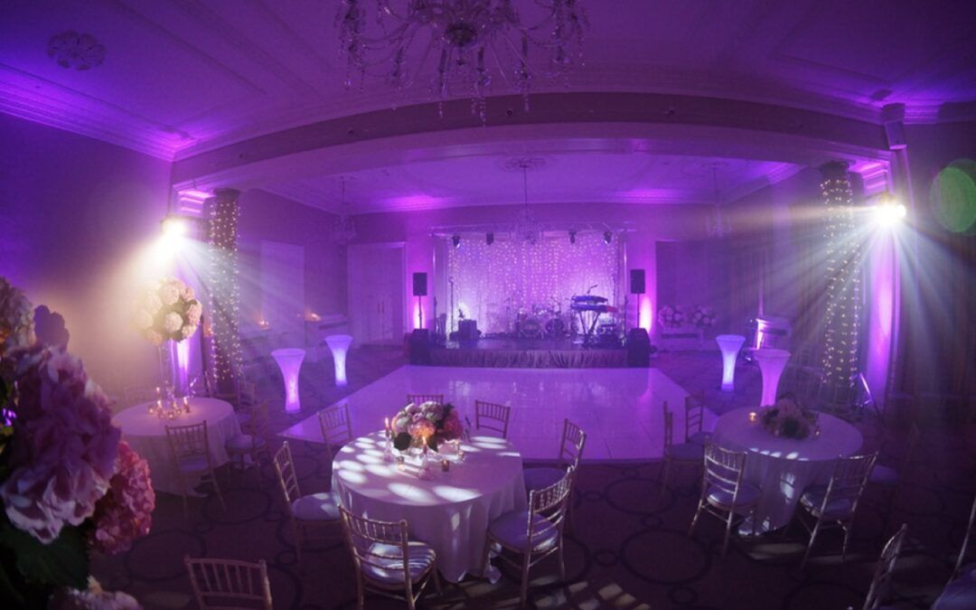 Rudding Park Wedding Music & Lighting