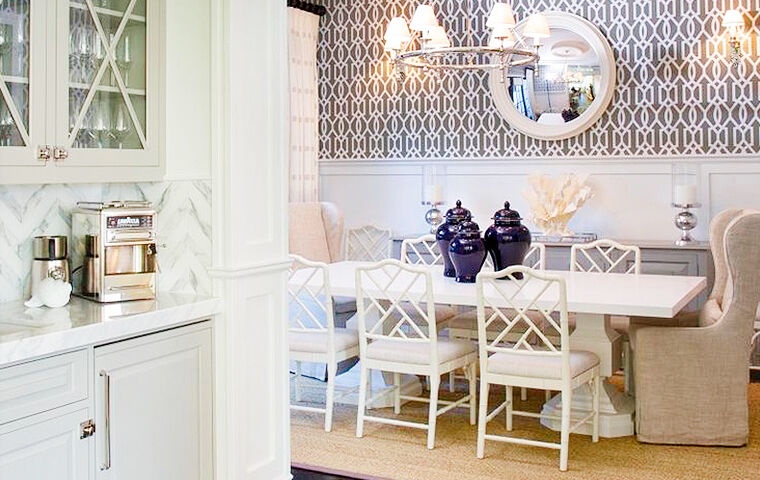 Kathy Kuo Home & Coastal Dining Room | Kathy Kuo Home