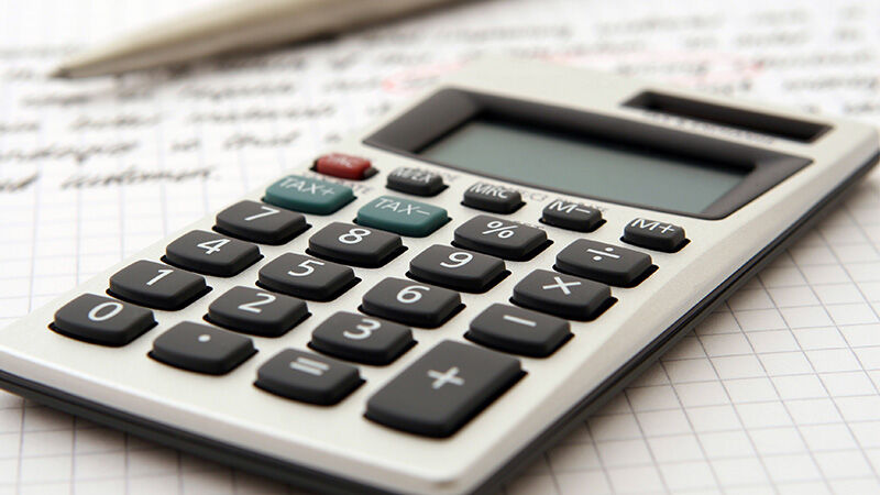 calculator for bookkeeping