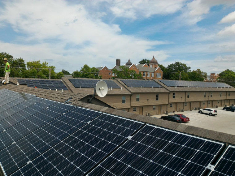 Warehouse solar system