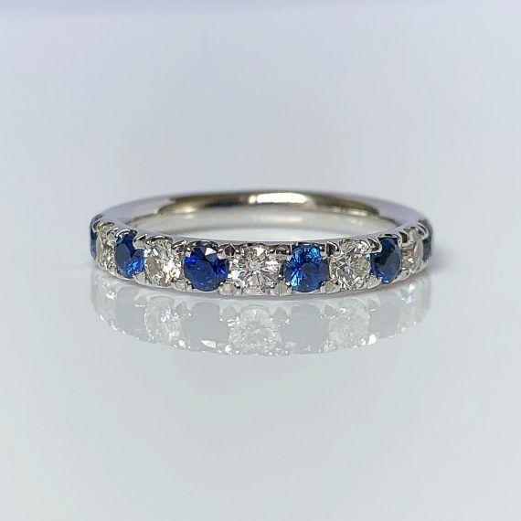 diamond and sapphire