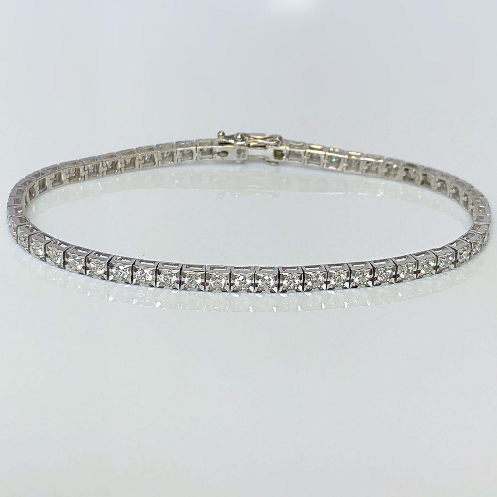 Diamond Delicate Tennis Bracelet
