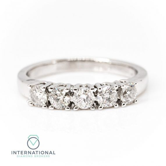 Five Stone Dia Ring – A