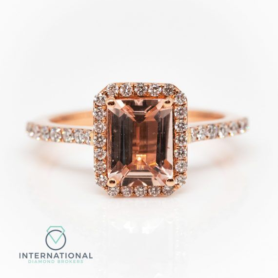 Eme Cut Morganite Ring – A