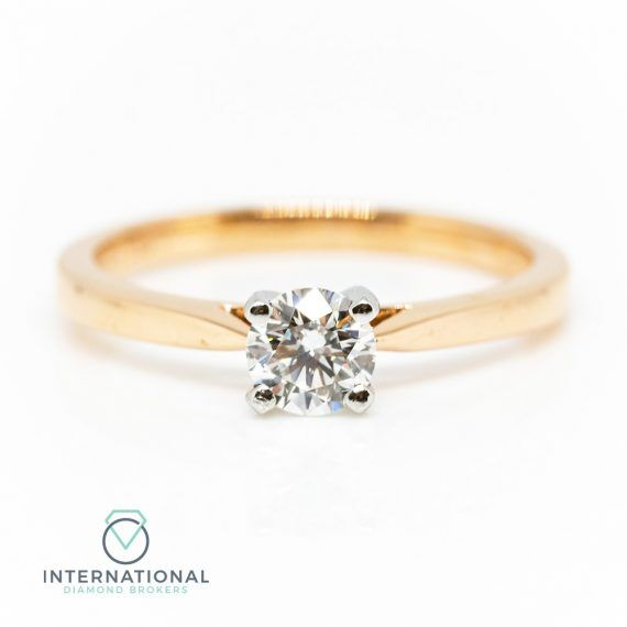 Rose Gold Solitaire – A