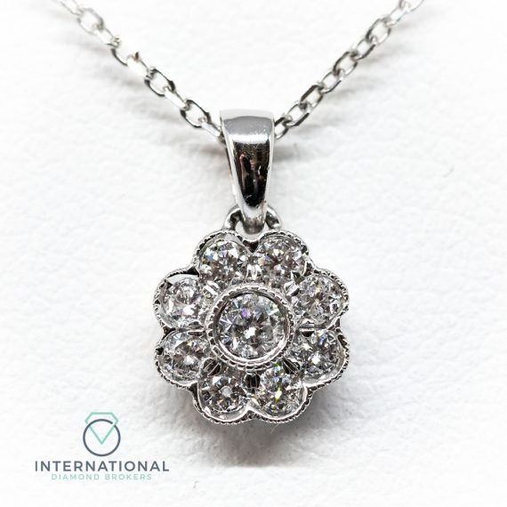 Flower Pendant Small – A