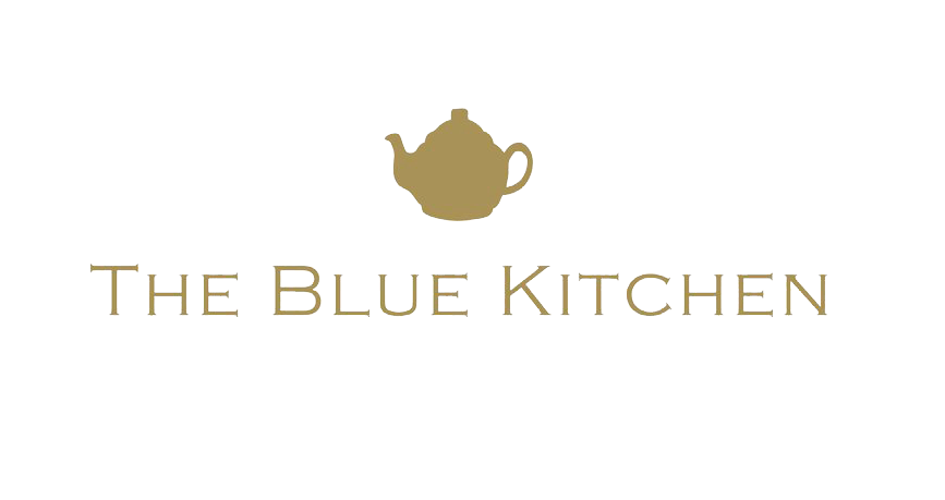 the blue kitchen
