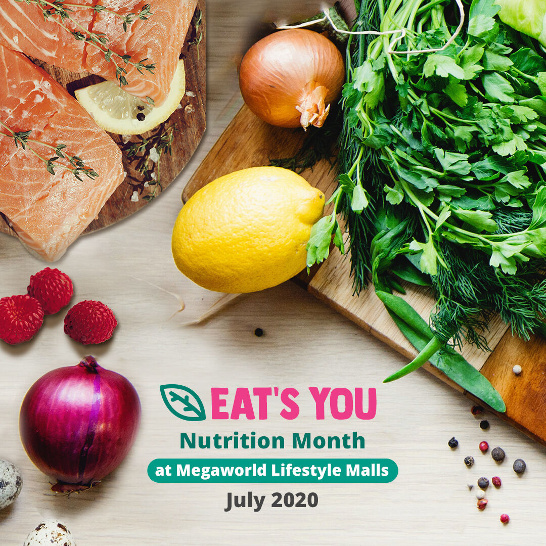 nutrition month at megaworld lifestyle malls