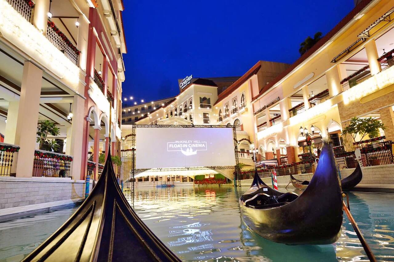 The Philippines First and Only Float-In Cinema At McKinley Hill