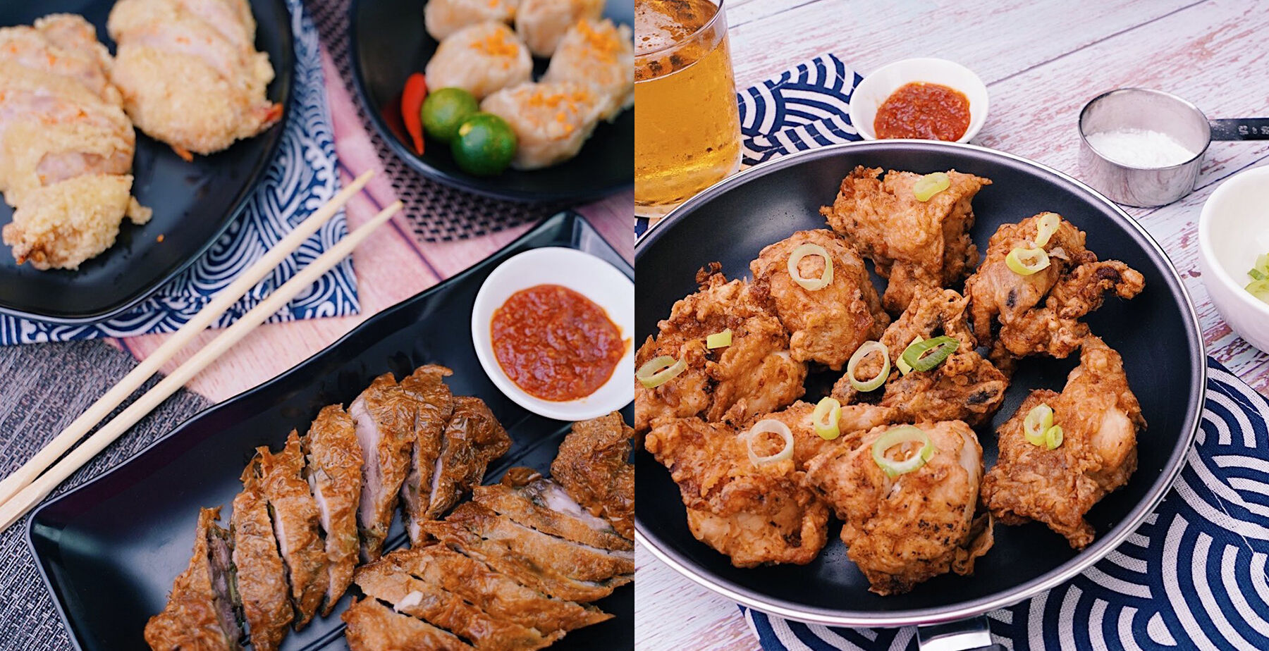Chicken and other dishes from Sincerity