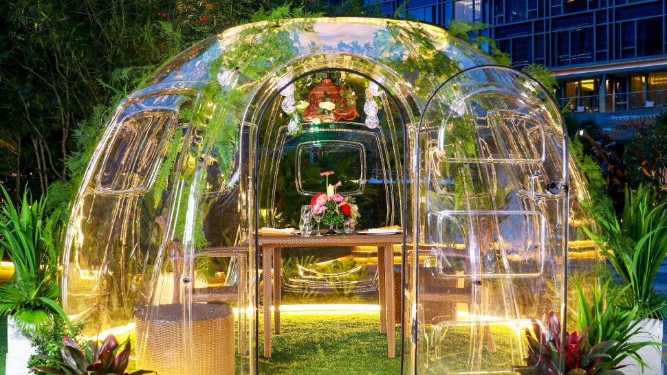 Vubble Pods Private Dining
