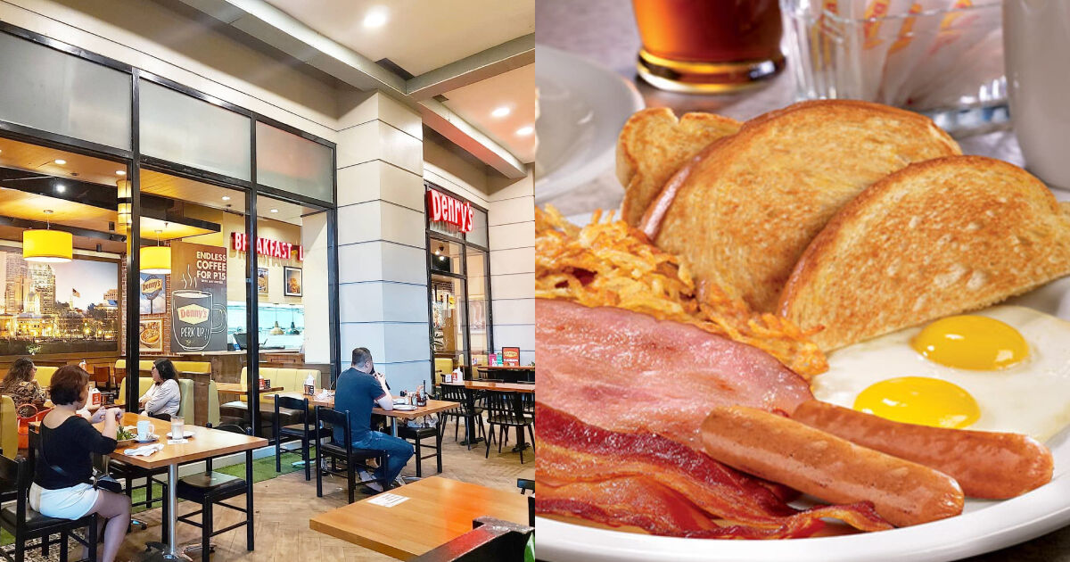 Brunch at Denny's will make an interesting Father's day celebration.