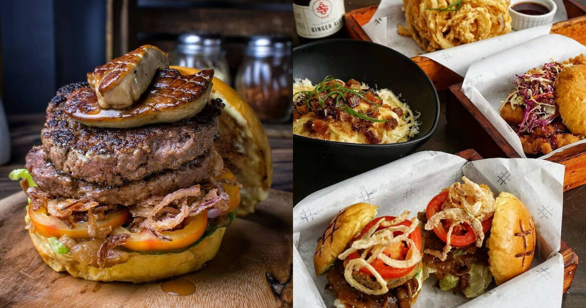 Kings of the grill will also appreciate the juicy goodness of burgers by Pound by Todd English.