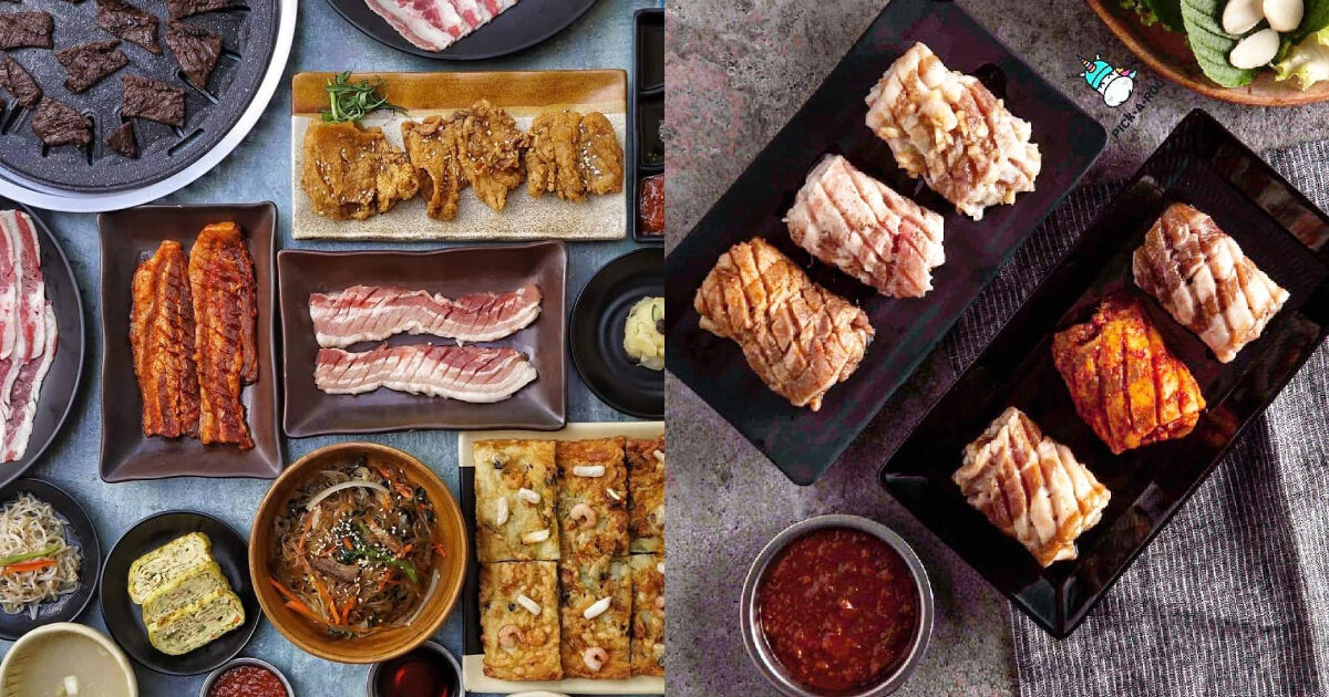 Soban K-Town Grill serves Korean barbecue favorites by set, which will make your appa do finger hearts.