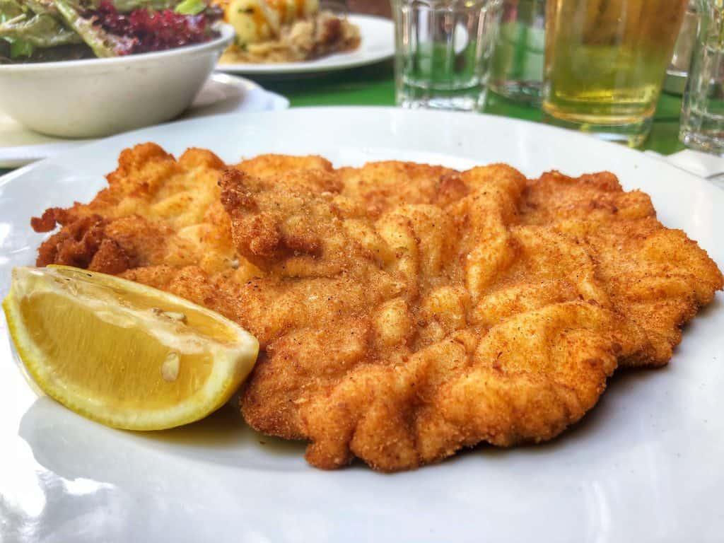 viennese schnitzel Vienna restaurants best schnitzel in vienna