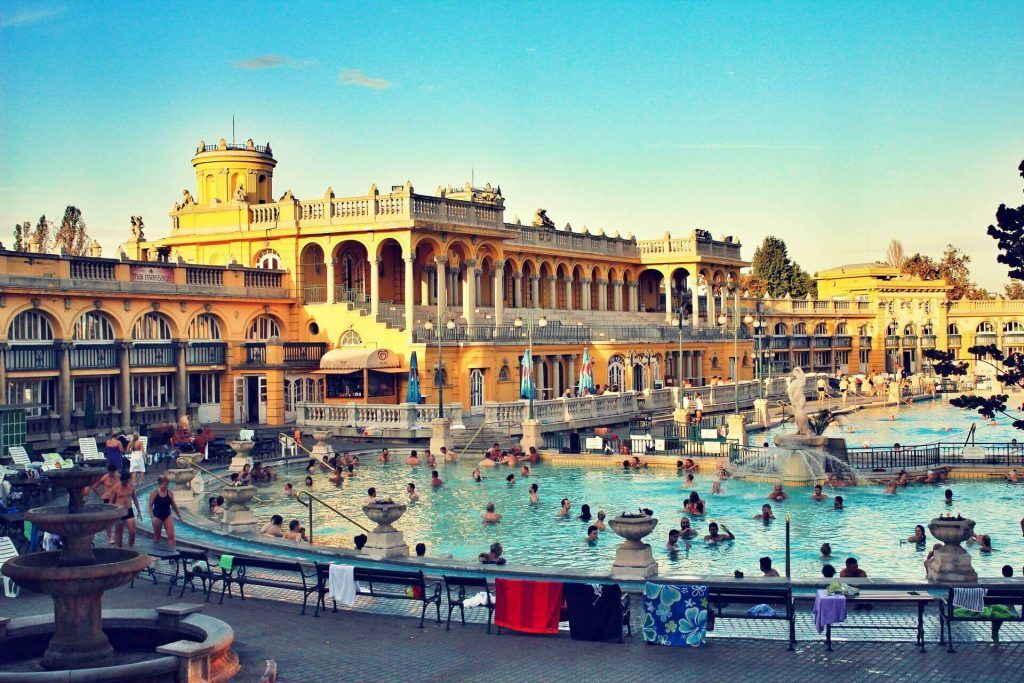 Budapest thermal baths best things to do in Budapest