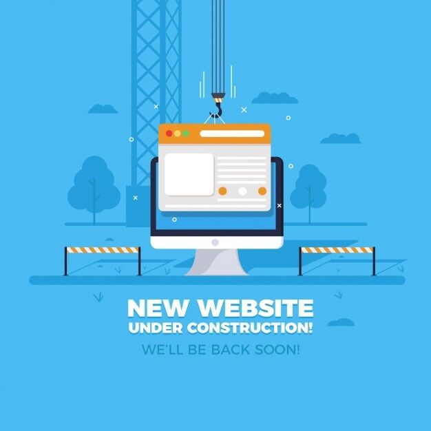 under construction for wordpress by adebowalepro