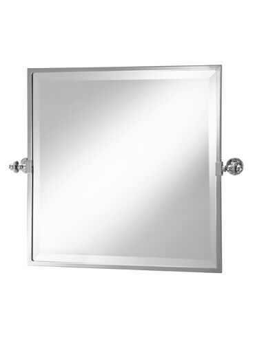 Square Framed Tilt Mirror 2-110 Cut Out