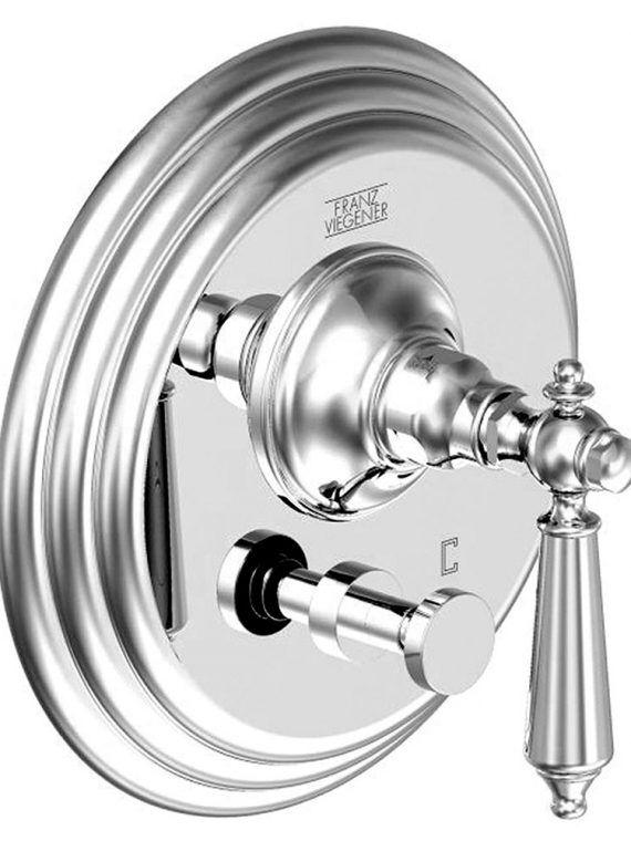 FV114:58L.0. Pressure balance valve with diverter – trim only 1