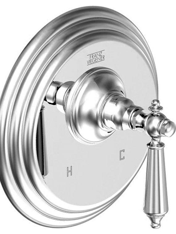 FV115:58L.0. Pressure balance valve, less diverter – trim only 1