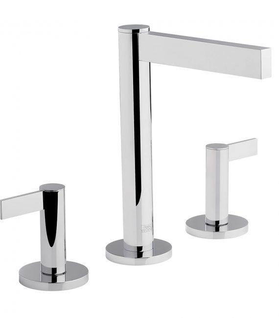 FV201:J2L. Widespread lavatory faucet with pop-up 1