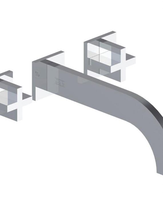 FV203:J3.0. Wall-mounted lavatory faucet, trim only