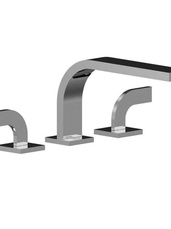 FV210:J4. Deck mounted Roman bath faucet 3:4 valves 1