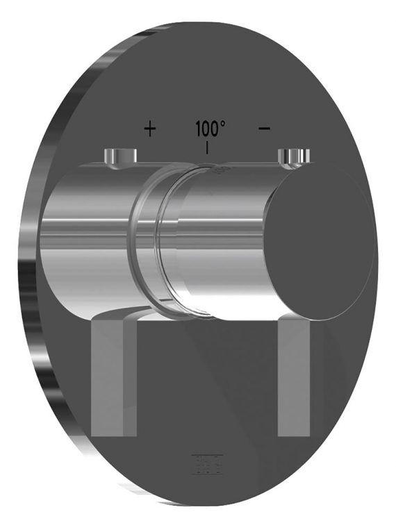 FV217:J2.0. Thermostatic wall valve – trim only
