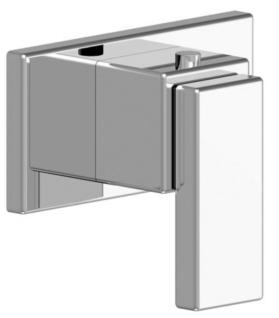 FV217:J9.0. Thermostatic wall valve – trim only 1