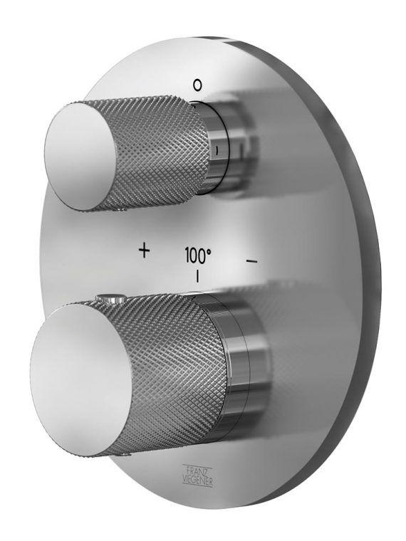 FV227:J2K.0. Thermostatic wall valve – trim only 1
