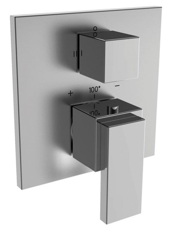 FV227:J9.0. Thermostatic wall valve – trim only 1