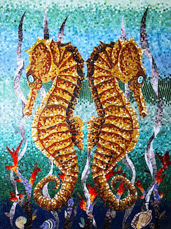 14. Twin-Seahorses