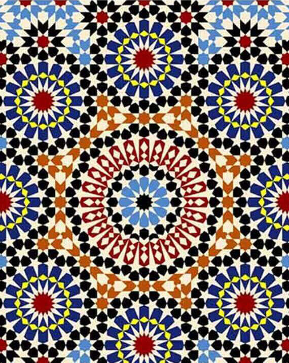 Zellige Andalusia Pattern 03