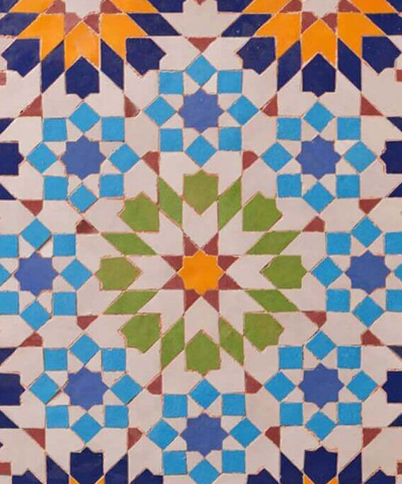 Zellige Andalusia Pattern 04