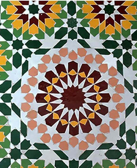 Zellige Andalusia Pattern 06