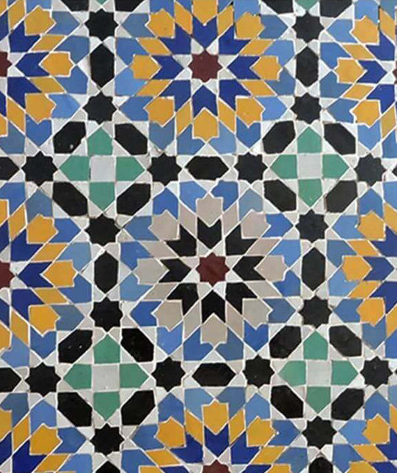 Zellige Andalusia Pattern 08