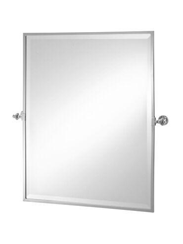 Rectangular Framed Tilt Mirror 2-112 Cut Out