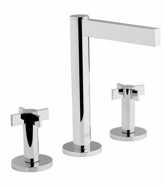 FV201_J2. Widespread lavatory faucet with pop-up 2
