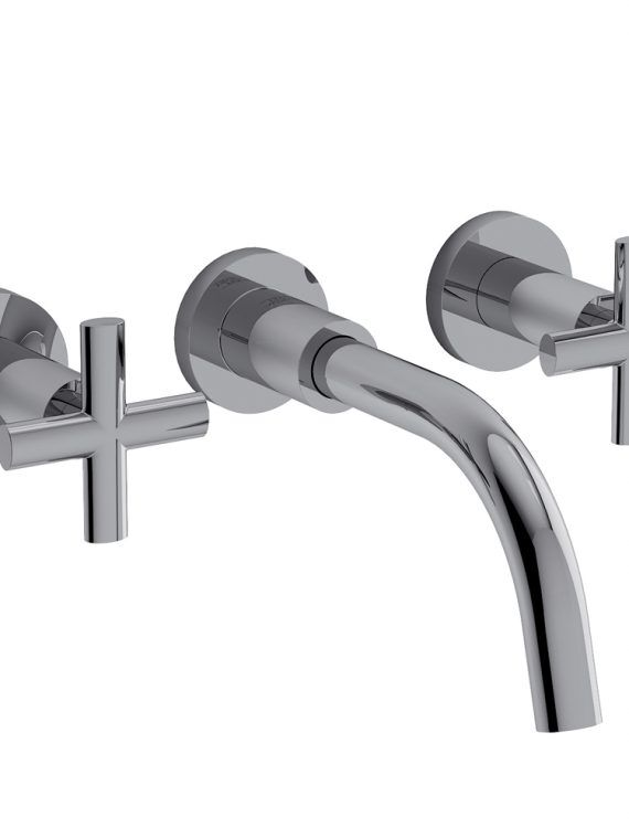 FV203:59.0. Wall-mounted lavatory faucet, trim only 1