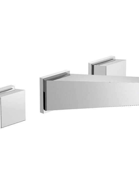 FV203:J8.0. Wall-mounted lavatory faucet, less drain assembly, trim only 2