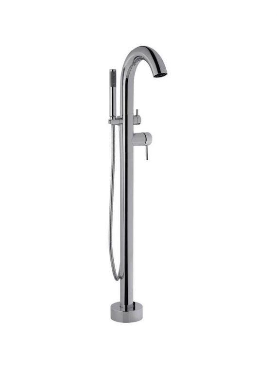 FV215:59.0. Freestanding floor mounted tub faucet 1