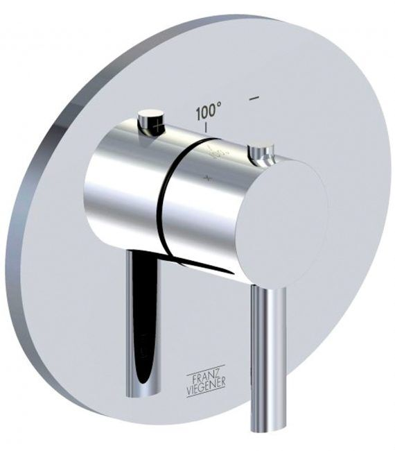 FV217:59.0. Thermostatic wall valve – trim only 1