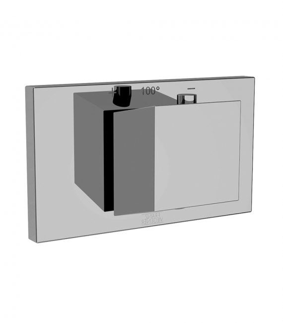 FV217:J8.0. Thermostatic wall valve – trim only 1