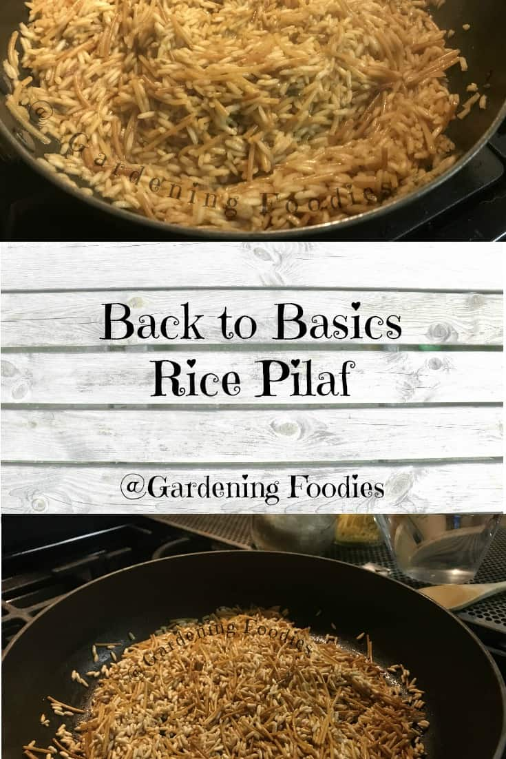 Ditch the box and make your own rice pilaf at home.  Cooking from scratch doesn\'t need to be difficult.  Replace the box and open up endless varieties.  Want more? Check out gardening foodies on facebook.