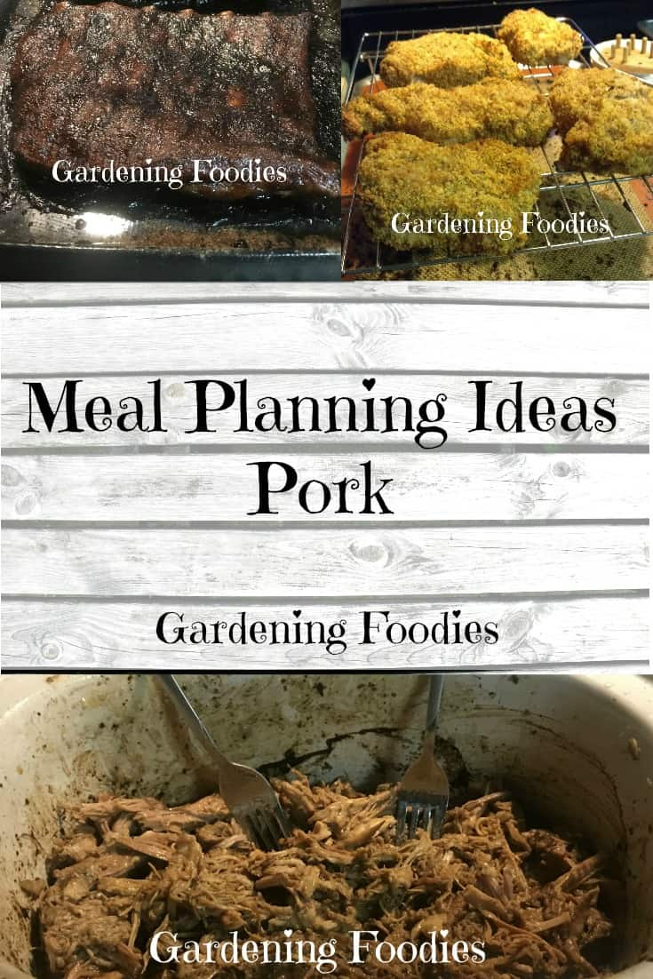 Meal planning ideas – pork