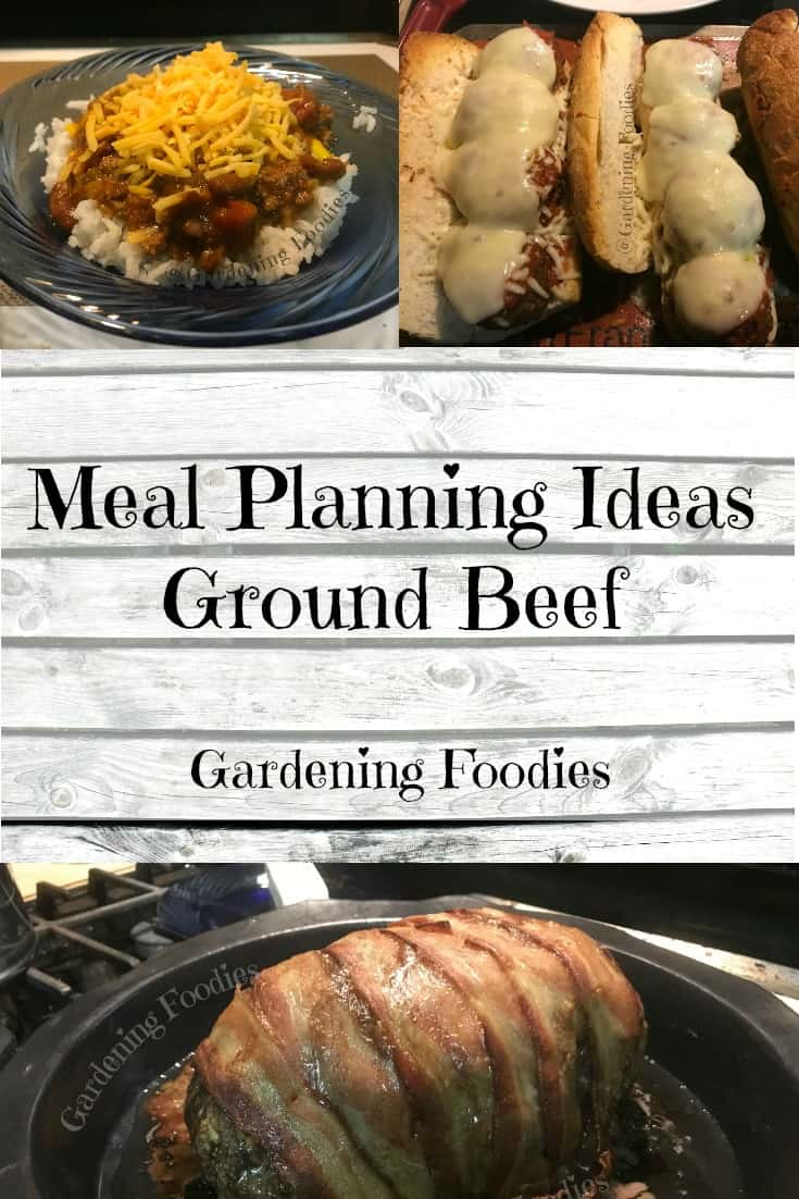 Meal planning ideas – ground beef