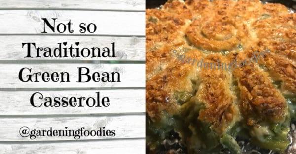 Easy green bean casserole, bon COOK recipes, Demarle recipes, holiday sides