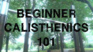Beginner Calisthenics 101